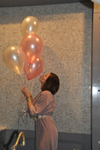The happiness of balloons