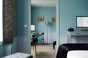 La Belle Juliette . Chambre Bleue