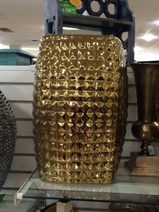 Home Goods Gold Stool $69.
