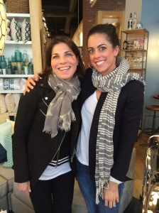 Erin Gates author of Elements of Style with yours truly Jackie Falla