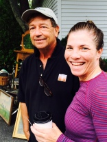 Ed Tessier, MV Auctions and me (after hot yoga!)