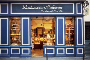 Boulangerie Malineau . Paris