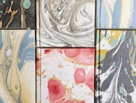 Marbleized Notebooks . The Loveliest Company . Dallas