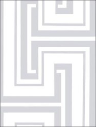 grey and white geometric wallcovering