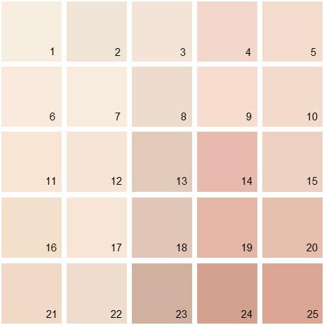 Ben moore pink