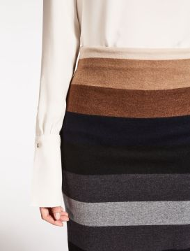 Max Mara . Striped Skirt . $595.