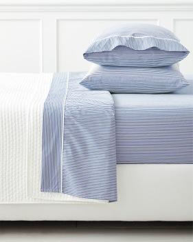 stripes s + l oxford stripe sheets